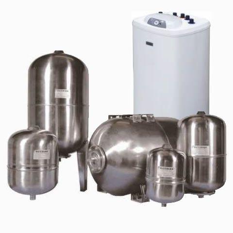 Boilere, vase de acumulare, vase de expansiune
