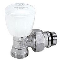 "Ventil coltar termostatabil cu cap manual 1/2"" x 18 mm, R431TG"