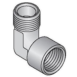 """Cot Uponor, 90° 1/2"""" FE-1/2"""" FI"""