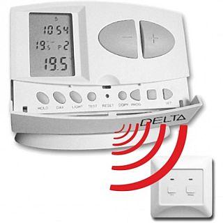 DELTA S2302 RF - Termostat de cameră digital, programabil, cu radiofrecvenţă