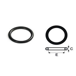 FIX TREND Steel press O-ring, garnitură EPDM negru 22 mm