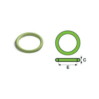 FIX TREND Steel press O-ring, garnitură pentru solar FPM verde 22 mm