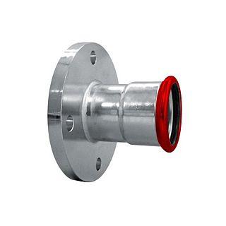 FIX TREND Steel press piesă trecere cu flanşă  22 mm-DN20 PN16