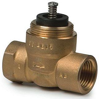 """SIEMENS VVI 46.25 robinet cu două căi PN16, kvs= 5, 1"""", ax de 2,5 mm"""
